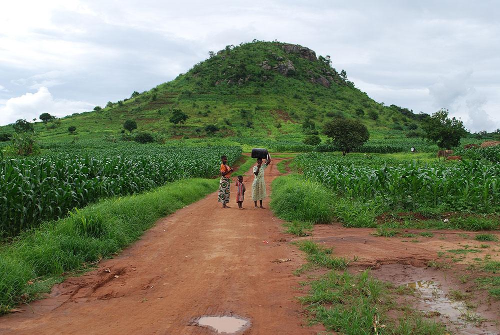 マラウィの風景