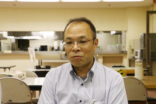 「普段運動不足になりがちなので、おいしい地元野菜は体重のコントロールに最適です」と語る租和氏。