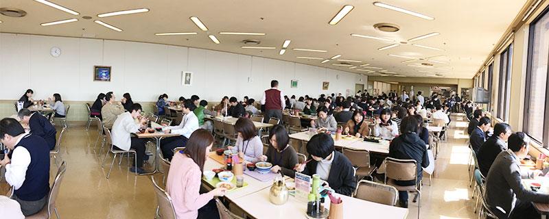 徳島県庁職員食堂