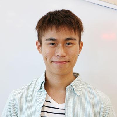 東京学芸大学留学生 (台北大学) 張順華さん